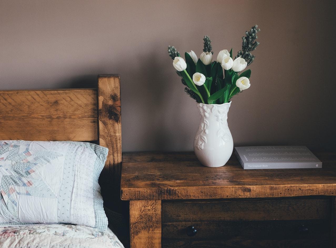 Modna sypialnia - trendy wnętrzarskie na 2019 rok
